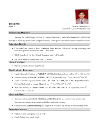 Housekeeping Manager Resume Sample by Resume Format For Hospitality Industry It Resume Cover Letter Sample