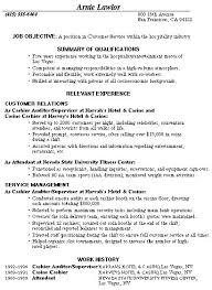 Customer Service Template Resume Resume Templates Customer Service Resumes For Customer Service