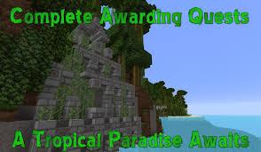 Minecraft 1 8 Adventure Maps Treasure Island 2