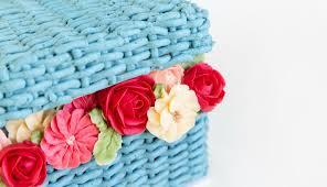 style flower amazing flower basket cake decorating youtube