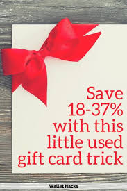 buy used gift cards how to save 18 37 on your purchases with a used gift card