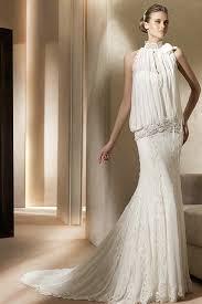 stylish wedding dresses wholesale slits halter lantern top stylish lace beading casual