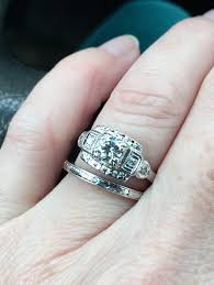 who else has an art deco engagement ring weddingbee