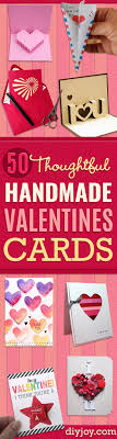 valentines day cards for him 50 thoughtful handmade valentines cards