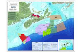 Map Of Nova Scotia Geoscience Data And Maps Department Of Energy