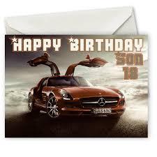personalised mercedes benz birthday card pedro julio pinterest