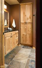 top 25 best rustic hickory cabinets ideas on pinterest hickory cabinets rustic hickory appears again in this lower level bath this hickory cabinetry may be what i have for kitchen i like this tile floor