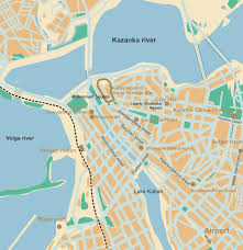 map of kazan kazan map