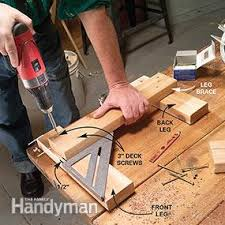 How To Build Wood Bench How To Build A Bench Family Handyman