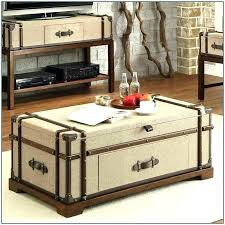 steamer trunk side table steamer trunk coffee table lift top for sale greyworld