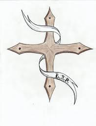 zedulot cross tattoos on paper