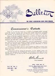駘ection bureau association 1970 bulletin no 5 the scout association hong kong branch by