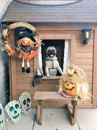 this texas teenager decorated her dog u0027s house for halloween