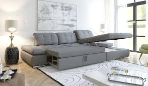 alpine modern sectional sofa sleeper