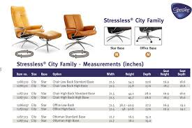 Stressless Chair Prices Stressless City High Back Paloma Black Leather By Ekornes
