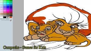 lion king online coloring pages mufasa and simba 120 youtube