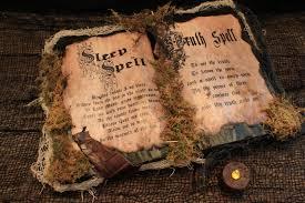 halloween spell book sleep spell u0026 truth