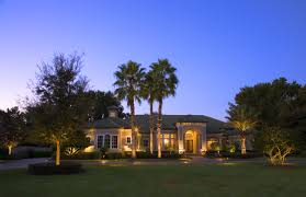 Outdoor Lighting House by Landscape Lighting