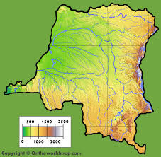 Dr Congo Flag Democratic Republic Of The Congo Map Geography Of Democratic Dr