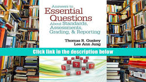 read online answers to essential questions about standards