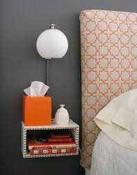 Floating Headboard With Nightstands by Best 25 Wall Mounted Bedside Table Ideas On Pinterest Wall