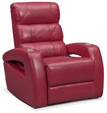living room recliner chairs bravo power recliner red value city furniture
