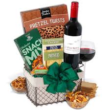 wine countryside gift basket by gourmetgiftbaskets
