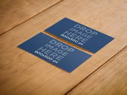 Business Cards Mockups Free Psd Business Card Mockups Placeit