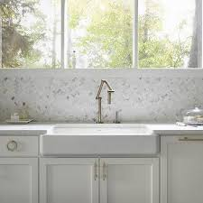 shallow apron kitchen sink design ideas