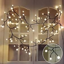yming 8 3ft vine shaped bedroom string lights 72