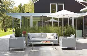 Modern Patio Furniture That Brings The Indoors Outside Freshome - Designer outdoor tables