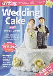 Wedding Gift Knitting Patterns Wedding Cake Plus Bride U0026 Groom By Alan Dart Toy Knitting Pattern