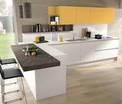 contemporary kitchen laminate polymer ecological