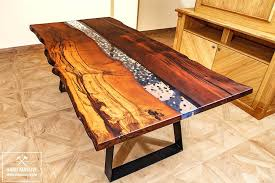 live edge river table epoxy live edge river table helikopter me