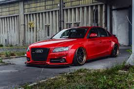 adv1 wheels audi a4 widebody stance bagged custom forged 3 piece