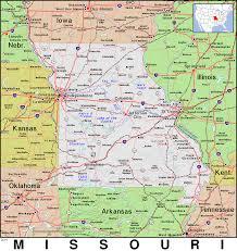 Iowa Illinois Map Mo Missouri Public Domain Maps By Pat The Free Open Source