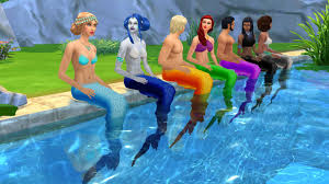mermaids in ts4 u2014 the sims forums
