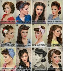 easy vintage hairstyles hairstyles for long hair