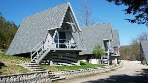table rock resort missouri a frame cottages at alpine lodge resort on table rock lake branson