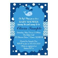 whale baby shower invitations whale baby shower invitation nautical baby shower card zazzle