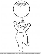 teletubbies coloring picture coloring