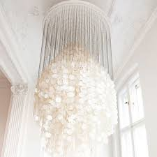 Tropical Chandelier Lighting Design Crowd Hair Bomb Pearl Chandelier Chandeliers And Pearls