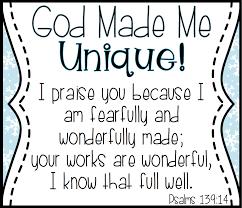 god made me unique like a snowflake mrs jones u0027 creation station