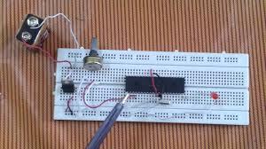20pcs 5k ohm variable resistor trim pot horizontal potentiometer