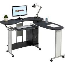 Corner Computer Desk Ebay by Compact Folding Computer Desk W Shelf Home Office Piranha