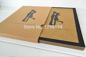 personalized album free ship 10 inch diy photo album scrapbook handmade paper