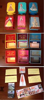 bridesmaids invitation boxes disney princess themed will you be my bridesmaid box if i
