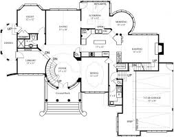 fancy house floor plans craftsman house plans home style plan tillamook 30 519 front
