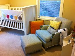 Nursery Chair And Ottoman Comfy Chair Reupholstered Plus Kitchen Table And Chairs Makeover