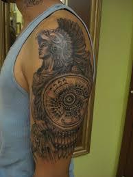 aztec jaguar warrior tattoo aztec lady and jaguar tattoos